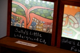 Little Cities, lightboxes by Ben Spinrad