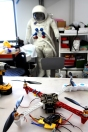 DIY unmanned aircraft. One small step for a bustling research company.