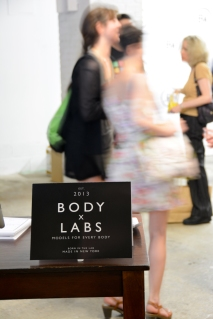 The Body Labs showcase let people know about the great potential of 3D body scans. Photo by Megan Coxe