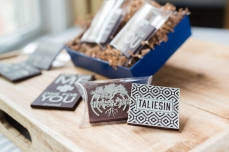 Taliesin chocolate design by Penina Finger, photography by Kelly Lynn James