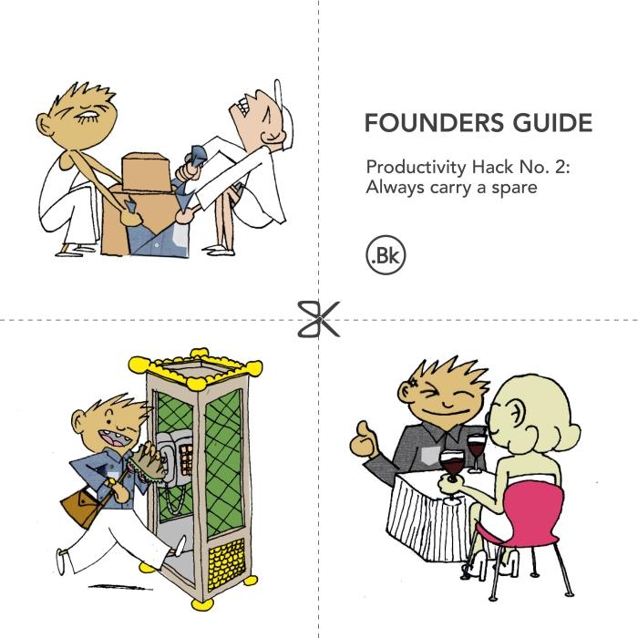 Startup productivity hacks